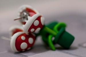 Boucle d'oreille Mario
